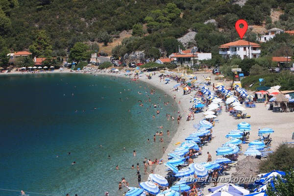 skopelos vacation accomodation diakopes